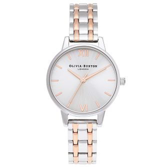 Olivia Burton England Ladies' Two Tone Bracelet Watch - Product number 1273949