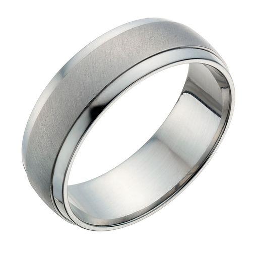 7883bef1336 Titanium 7mm Matt   Polish Ring - Product number 1274139