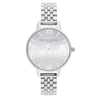 Olivia Burton Bejewelled Lace Stainless Steel Bracelet Watch - Product number 1274635