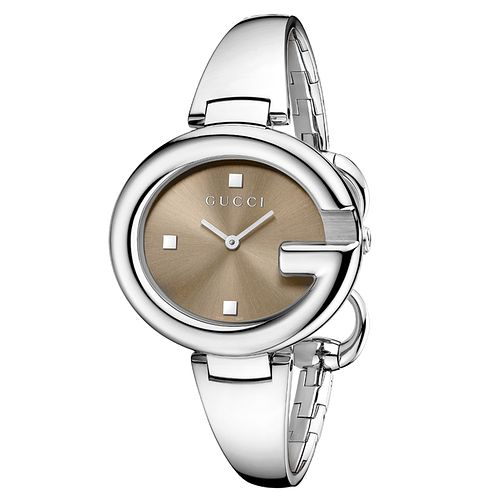 Gucci Guccissima Large Stainless Steel Bangle Watch - Product number 1279777