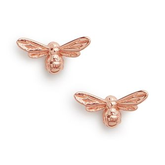 Olivia Burton Lucky Bee Rose Gold Tone Stud Earrings - Product number 1279947