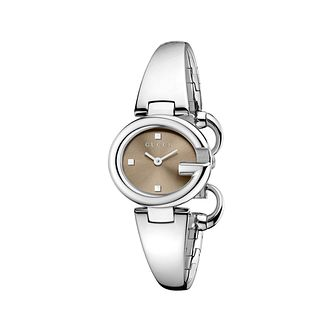 Gucci Guccisima ladies' small stainless steel bangle watch - Product number 1280341