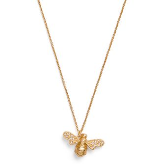 Olivia Burton Sparkle Bee Yellow Gold Tone & Crystal Pendant - Product number 1280449