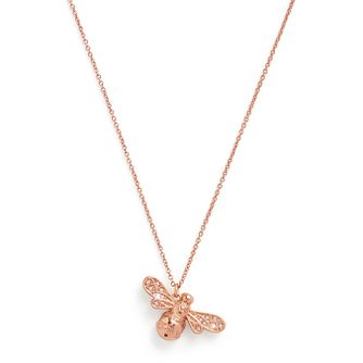 Olivia Burton Rose Gold Tone Sparkle Bee Pendant - Product number 1280457