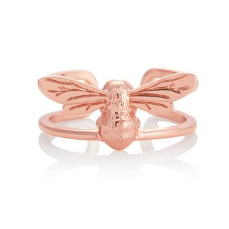 Olivia Burton Lucky Bee Rose Gold Tone Ring - Product number 1280708