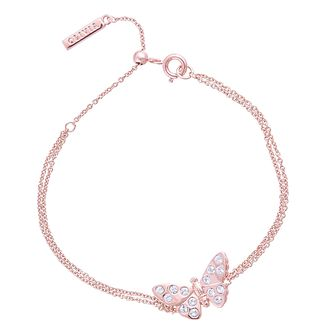 Olivia Burton Sparkle Butterfly Rose Gold Tone Bracelet - Product number 1280996