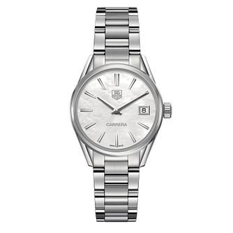 TAG Heuer Carrera Ladies' Stainless Steel Bracelet Watch - Product number 1281208