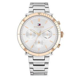 Tommy Hilfiger Emery Ladies' Two Tone Bracelet Watch - Product number 1281356