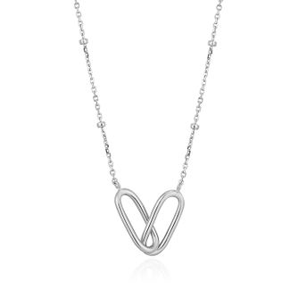 Ania Haie Sterling Silver Beaded Chain Link Necklace - Product number 1288806