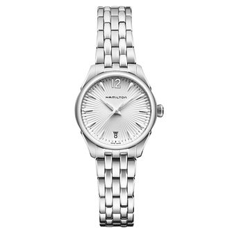 Hamilton Jazzmaster Ladies' stainless steel bracelet watch - Product number 1295543