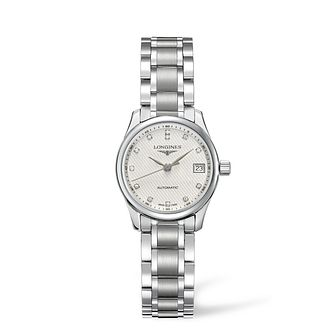 Longines Master Collection Ladies' Diamond Bracelet Watch - Product number 1297562