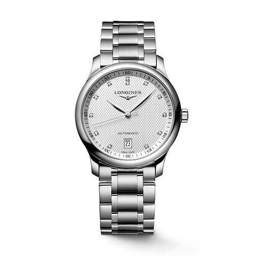 Longines Master Collection Men's Diamond Bracelet Watch - Product number 1297643