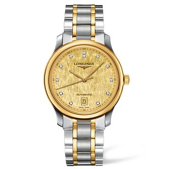 Longines Master Collection Men's Diamond Two Colour Watch - Product number 1297651