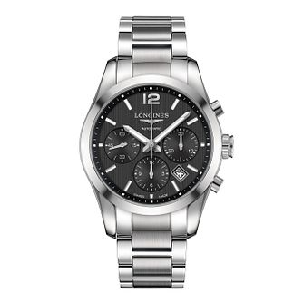 Longines Conquest Men's Chronograph Bracelet Watch - Product number 1297783