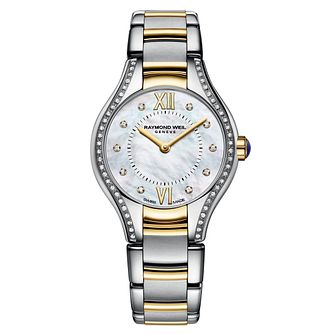 Raymond Weil Noemia ladies' diamond two-tone bracelet watch - Product number 1298119