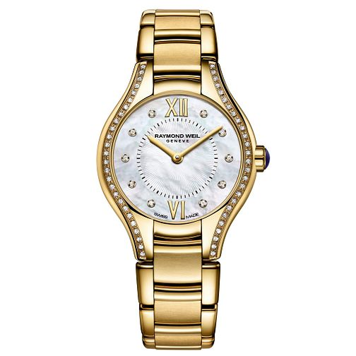 Raymond Weil Noemia ladies' diamond gold tone bracelet watch - Product number 1298151
