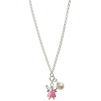 Molly Brown Aurora Sterling Silver Pink Fairy Pearl Pendant - Product number 1298402