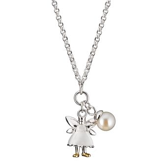 Molly Brown Aurora Sterling Silver White Fairy Pearl Pendant - Product number 1298410