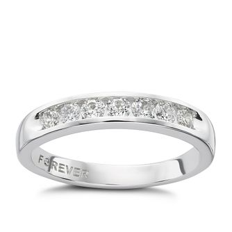 18ct White Gold 0.35 Carat Forever Diamond Ring - Product number 1299581