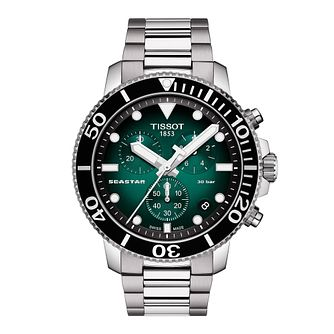 Tissot Seastar 1000 Chronograph Men's Stainless Steel Watch - Product number 1302698