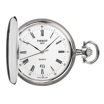 Tissot Savonnette Stainless Steel Pocket Watch - Product number 1307681