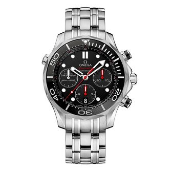 Omega Seamaster Diver Men's Stainless Steel Bracelet Watch - Product number 1314254