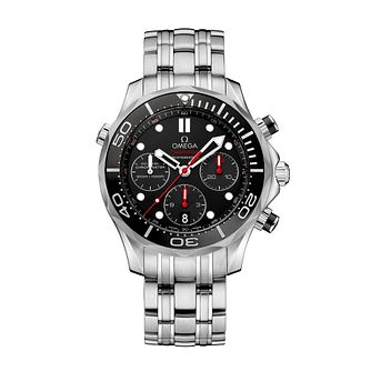 Omega Seamaster Diver Men's Stainless Steel Bracelet Watch - Product number 1314270