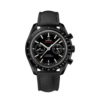 Omega Speedmaster Moonwatch Men's Black Strap Watch - Product number 1318713