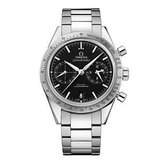 Omega Speedmaster Qx57 Men's Stainless Steel Bracelet Watch - Product number 1318748