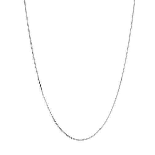 9ct white gold extender box chain - Product number 1344684