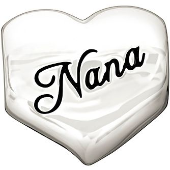 Chamilia Sterling Silver Nana Heart Charm - Product number 1347217