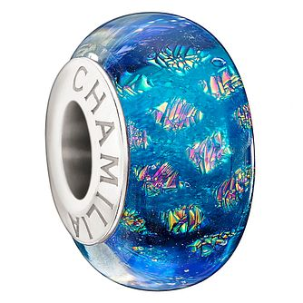 Chamilia Blue Opulence Murano Glass Sterling Silver Bead - Product number 1354264