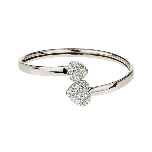 Mikey White Pave Crystal Bangle - Product number 1356968