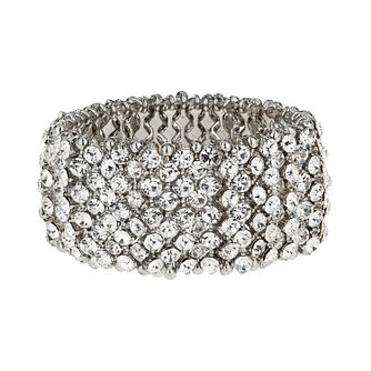 Mikey White Elastic Crystal Bracelet - Product number 1359517