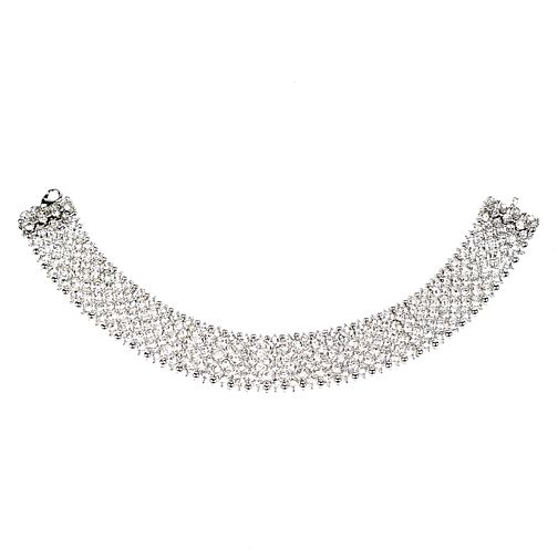 Mikey White Crystal Choker - Product number 1359940