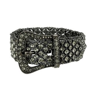 Mikey Black Crystal Buckle Bracelet - Product number 1359959