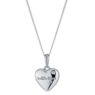 Silver Small With Love Locket - Product number 1362607