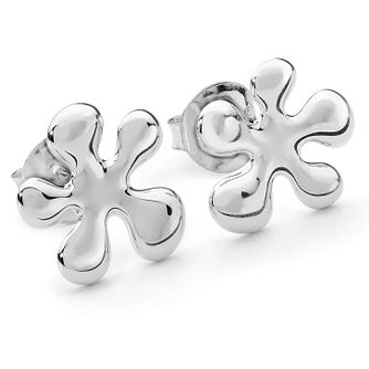 Lucy Quartermaine Silver 925 Splash Large Stud Earrings - Product number 1376349