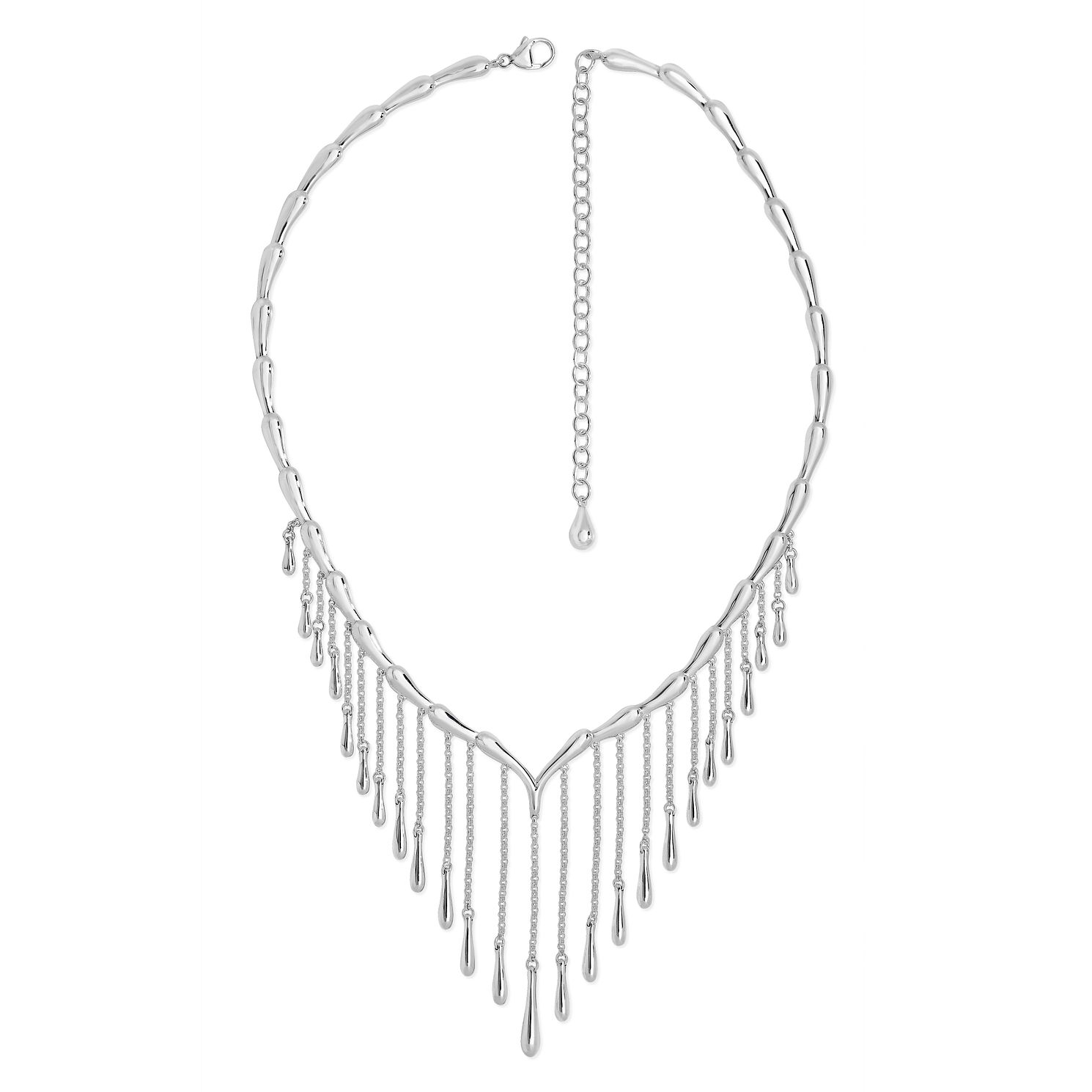 Lucy Quartermaine Silver 925 Waterfall Necklace - Product number 1376365