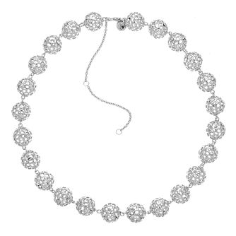 Rachel Galley Silver 925 Globe Lattice Bead Necklace - Product number 1376608