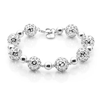Rachel Galley Silver 925 Globe Bracelet - Product number 1376640