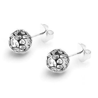 Rachel Galley Silver 925 Globe Stud Earrings - Product number 1376659