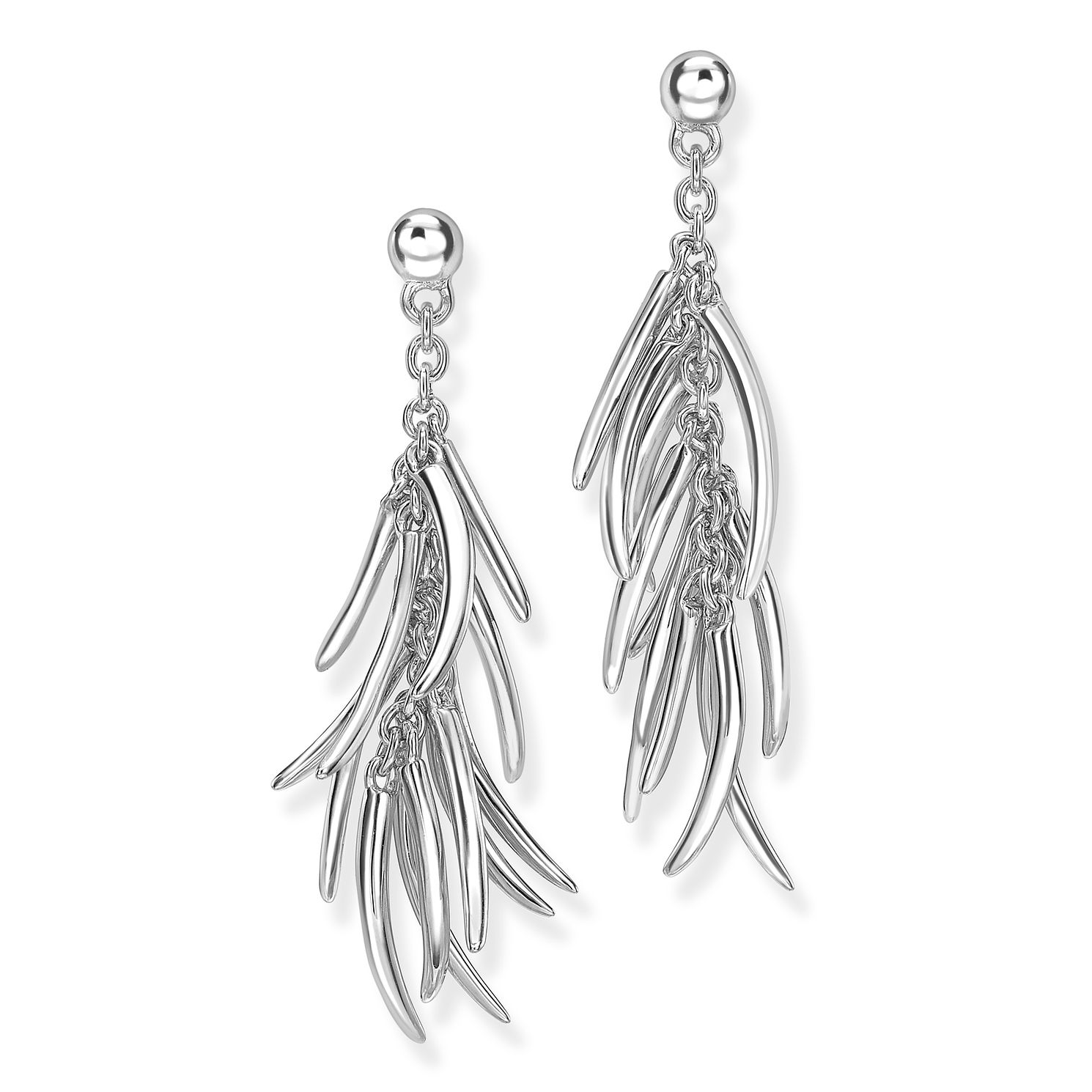 Rachel Galley Silver 925 Molto Drop Earrings - Product number 1376764