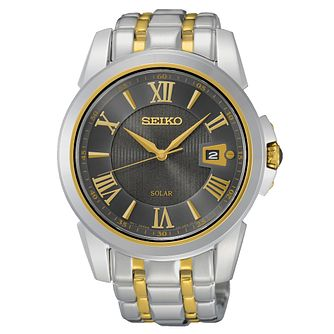Seiko Men's Two-Tone Stainless Steel Bracelet Watch - Product number 1379682