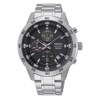Seiko Chronograph Men's Stainless Steel Bracelet Watch - Product number 1379720