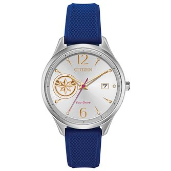 Citizen Marvel Captain Marvel Blue Resin Strap Watch - Product number 1382209