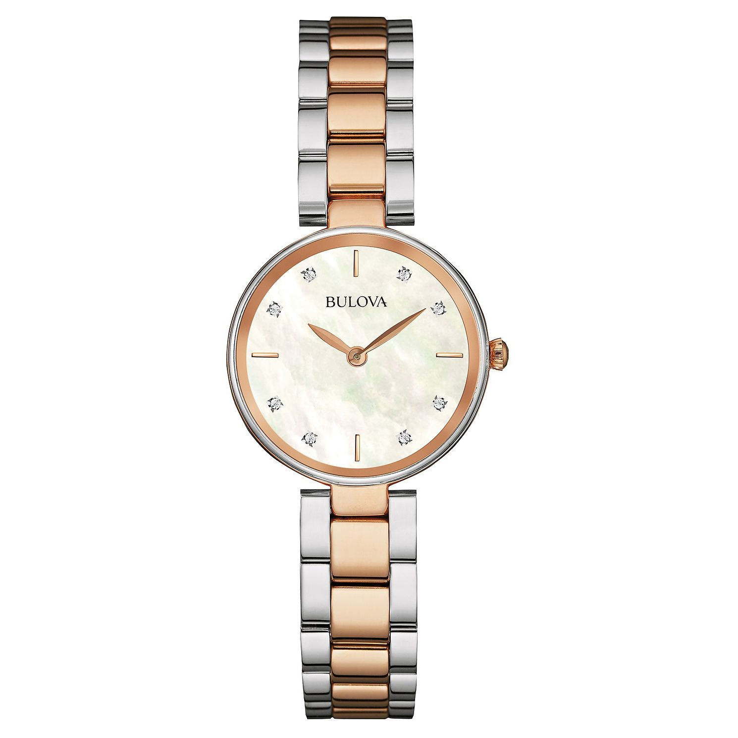 Bulova Classic Ladies' Two Tone Bracelet Watch - Product number 1382926