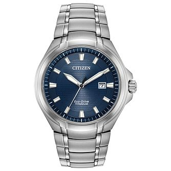 Citizen Paradigm Men's Titanium Bracelet Watch - Product number 1383531