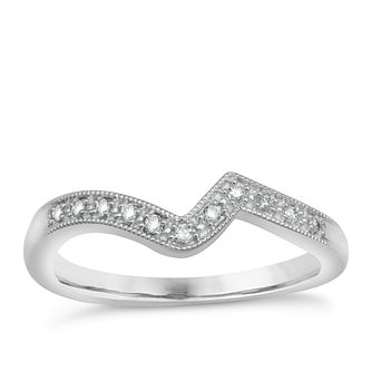 Argentium Silver & Diamond Perfect Fit Eternity Ring - Product number 1389793