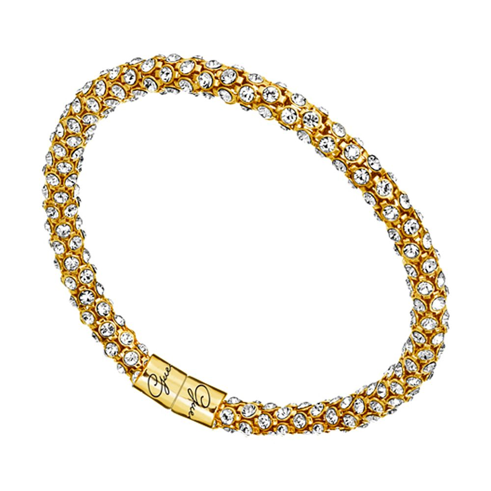 Guess Gold-Plated Wrap-Around Crystal Bracelet - Product number 1398490